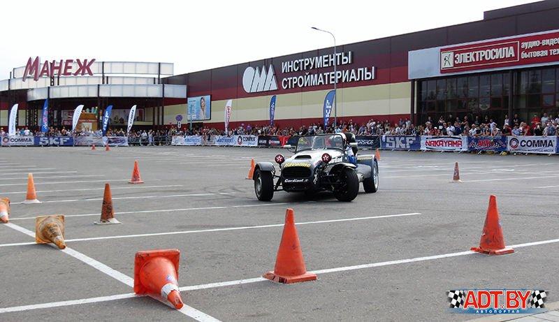 """Акция """"Спортсмены – за безопасность дорожного движения!"""" – 2018, Полоцк."""