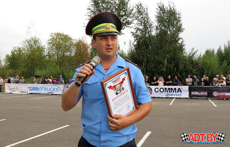 """Акция """"Спортсмены - за безопасность дорожного движения!"""" - 2018, Могилев"""