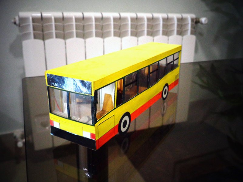 Модель автобуса МАЗ-103