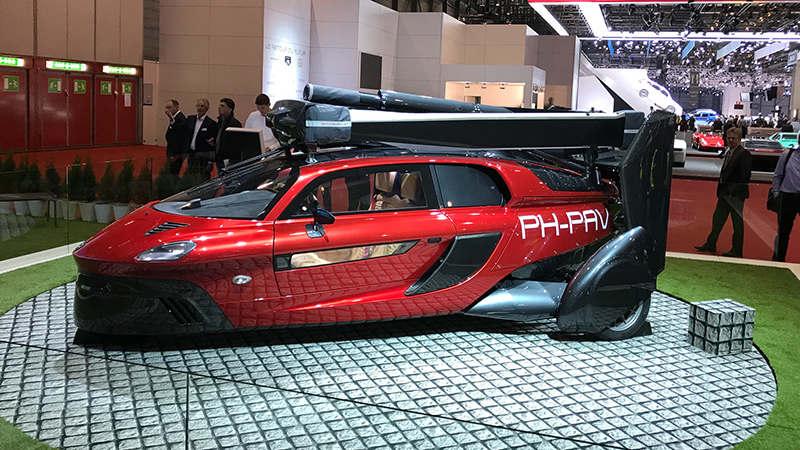 В Европе принимают заказы на летающий автомобиль PAL-V Liberty