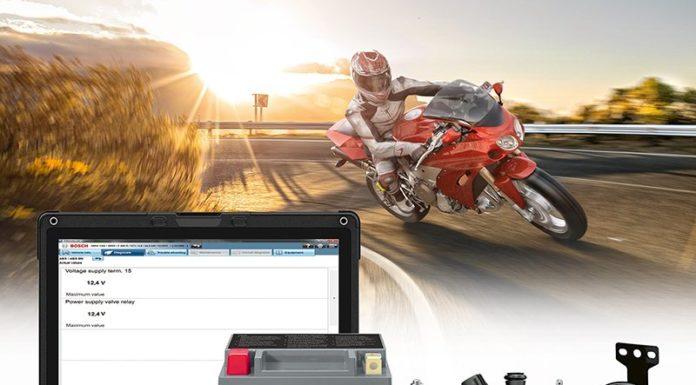 Bosch представляет ассортимент продукции для мотоциклов, скутеров и квадроциклов