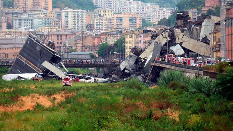 В Италии рухнул мост