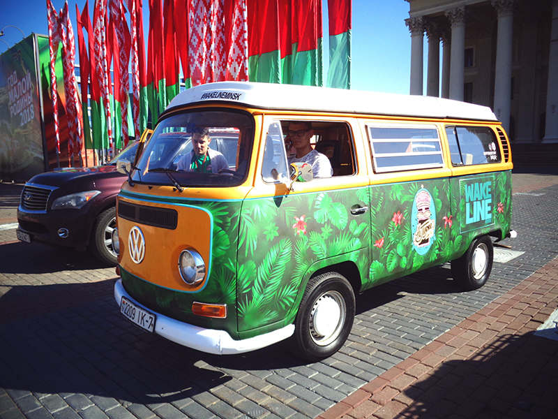 Раритетный Vollkswagen Transporter Т2 Westfalia