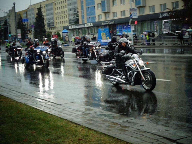 в Минске состоялось закрытие мотосезона H.O.G. RALLY MINSK 2018