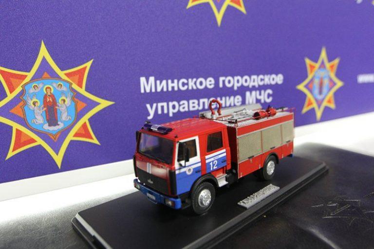Пожарная автоцистерна АЦ-5.0-50(5337) – новая модель Александра Вовка
