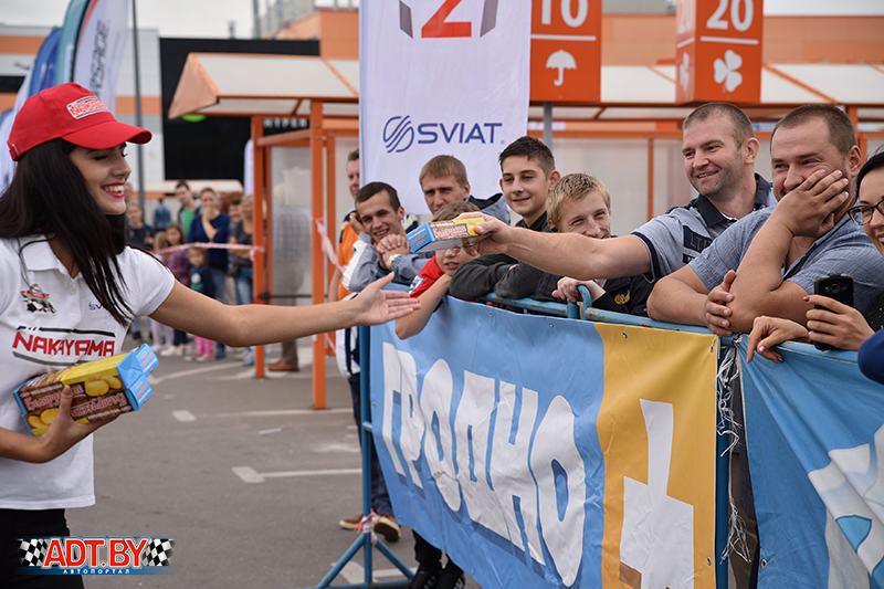"""Акция """"Спортсмены – за безопасность дорожного движения!"""" – 2018, 4-ый этап, Гродно"""