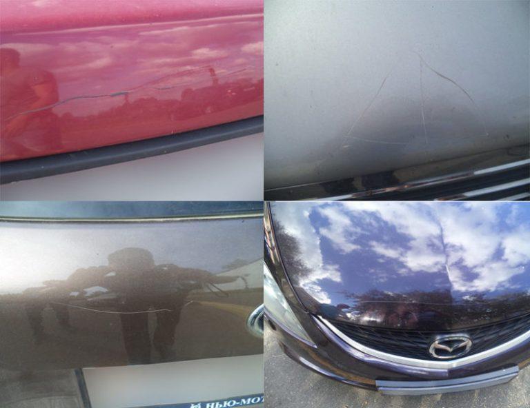 В Жодино подростки повредили 18 автомобилей