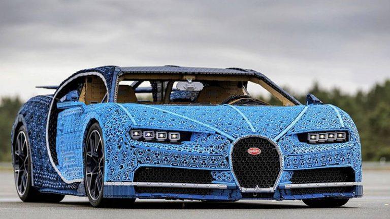 Lego воспроизвел Bugatti Chiron
