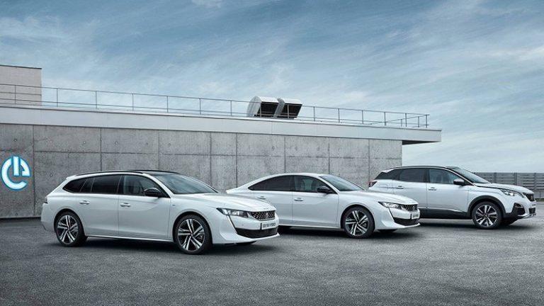 Peugeot 3008 Hybrid4 и 508 Hybrid
