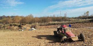 Во время гонок в Витебске багги сбил двух судей