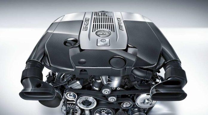 Мотор W12 Мерседес