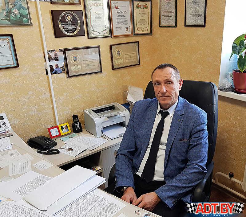 Заместитель председателя ЦС ДОСААФ Алексей Мирошниченко