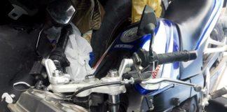 Мотоцикл на МКАДе попал в ДТП