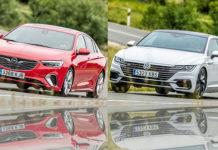 Сравнительный тест автомобилейOpel Insignia Grand Sport GSi и VW Arteon