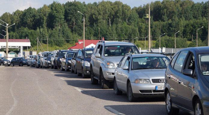 86% иностранных автомобилей для личного пользования ввозится из Литвы