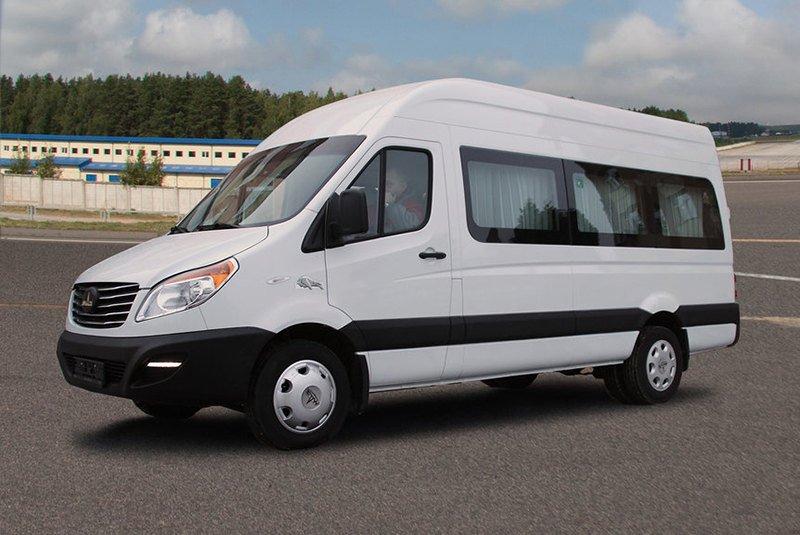 микроавтобусы и фургоны МАЗ