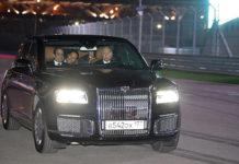 """Президенты России и Египта посетили «Сочи Автодром» и прокатились на """"Аурусе"""""""