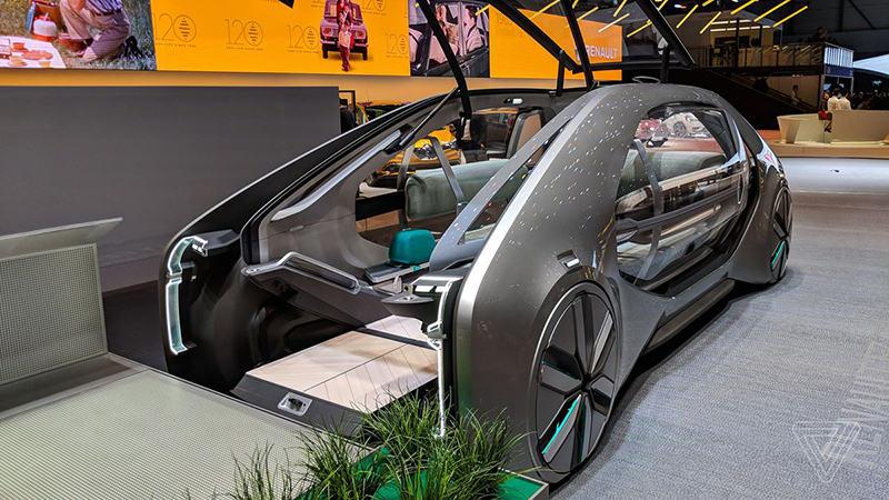 Электрокар Renault EZ-GO
