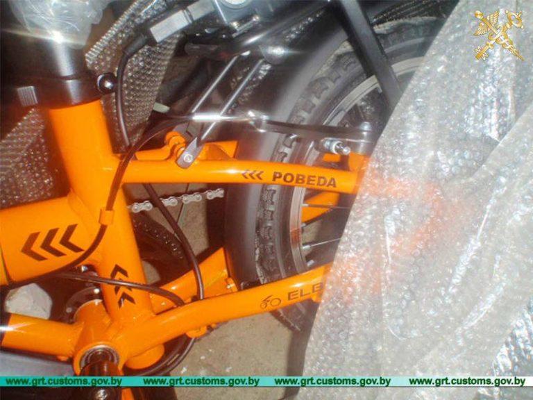 Более 80 электрических велосипедов незаконно перемещались через границу