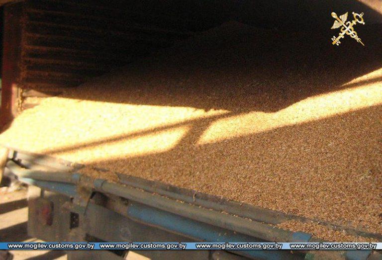 незаконный ввоз зерна