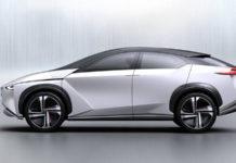 Электрокроссовер Nissan