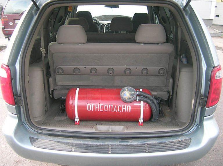 Прохождение техосмотра автомобиля с газовым оборудованием