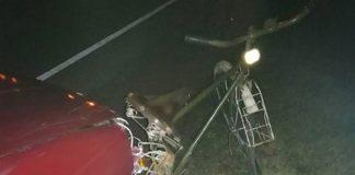 В Островецком районе насмерть сбит обозначенный светоотражателями велосипедист