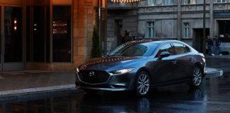 четвертое поколение модели Mazda3