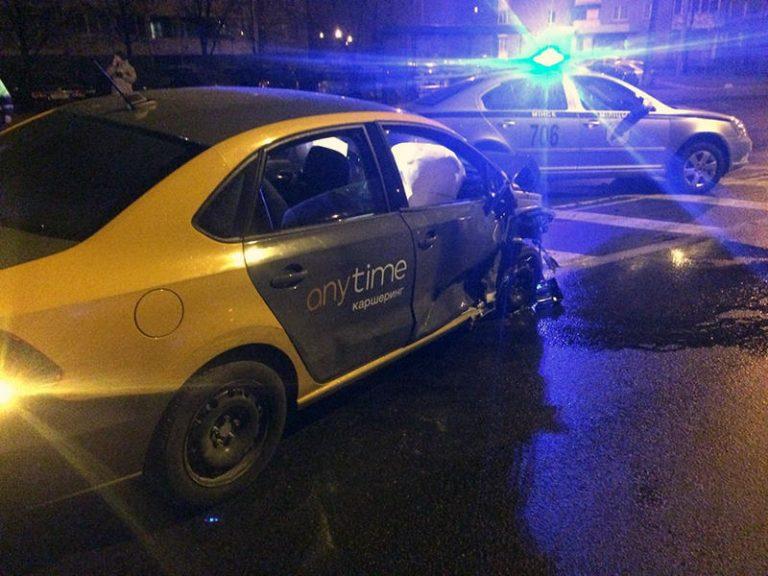 В Минске пьяный водитель повредил 10 автомобилей