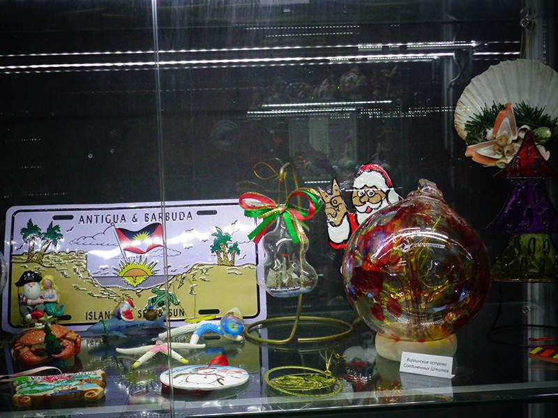 Елочные игрушки с Карибских островов