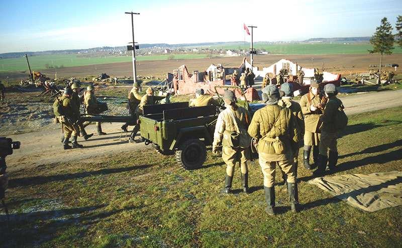 """На """"ЛИНИИ СТАЛИНА"""" отметили день ракетных войск и артиллерии"""