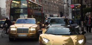 Лондон — всемирная столица суперкаров