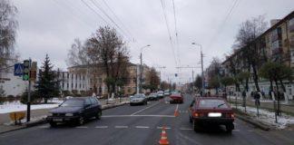 В Гомеле 9-ти летний ребенок был сбит на пешеходном переходе