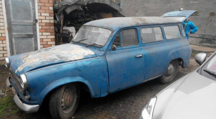 Автомобиль Skoda-1202