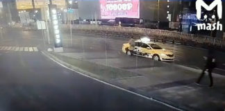 В Москве пешехода убило отделившееся от грузовика колесо