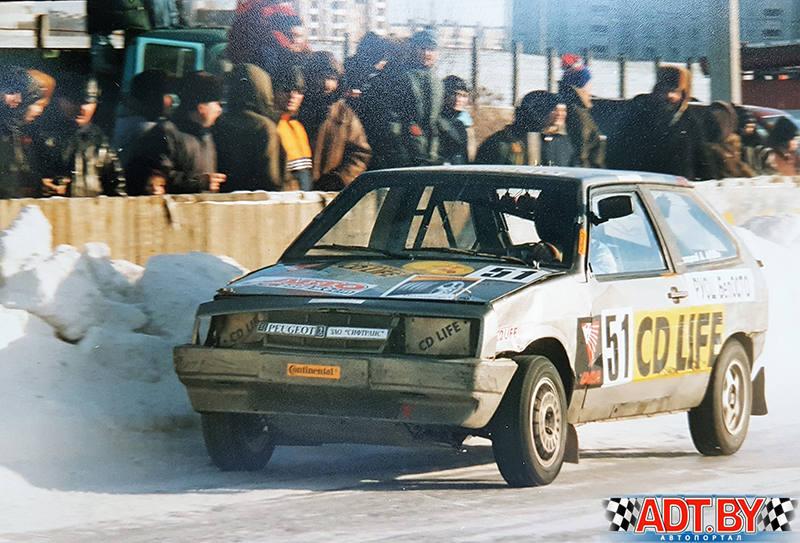 Андрей Погоцкий- участник зимних трековых гонок