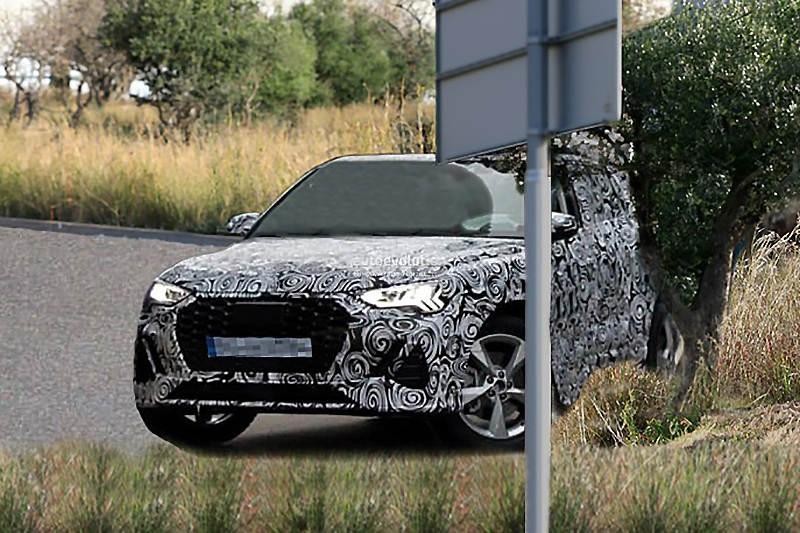 Audi испытывает компактный спорткроссовер