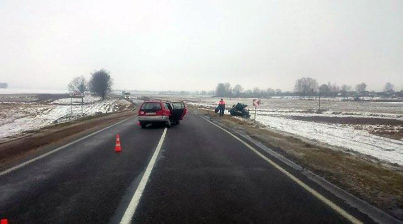 В Бобруйском районе столкнулись Opel и ВАЗ