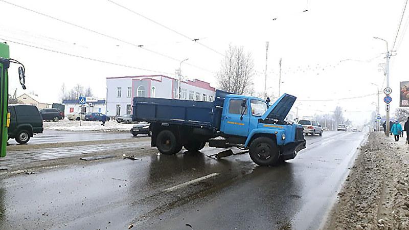 В ДТП в Витебске ребенок остался цел благодаря автокреслу