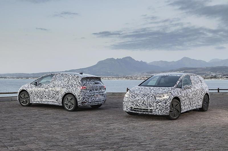 Электромобиль Volkswagen выехал на тесты
