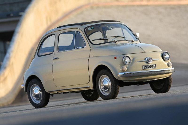 хэтчбек Fiat 500