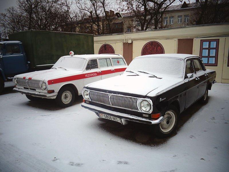 ГАЗ-24 и ГАЗ-2402