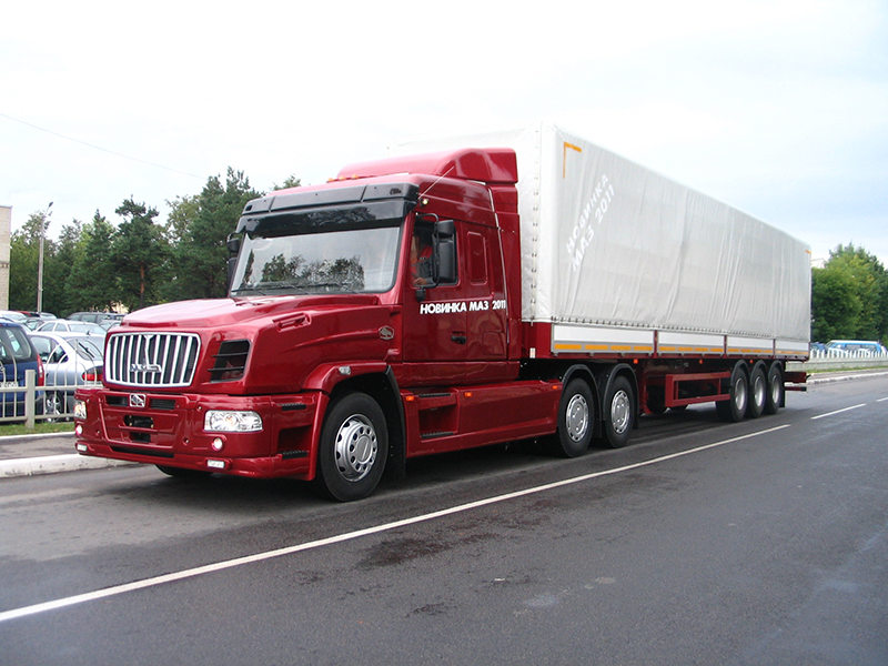 Автопоезд МАЗ-6440РА (N1)+МАЗ-975830