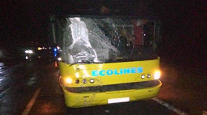 Автобус насмерть сбил пешехода