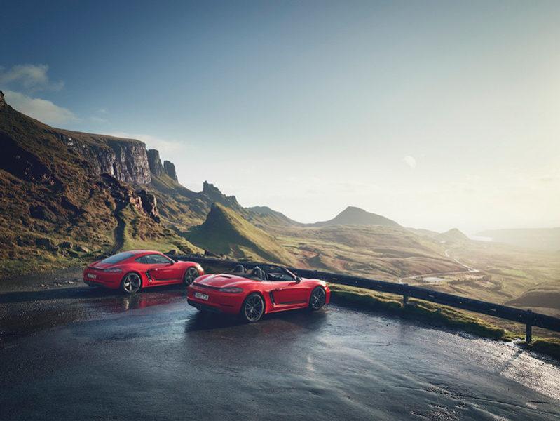 спорткары Porsche 718 T