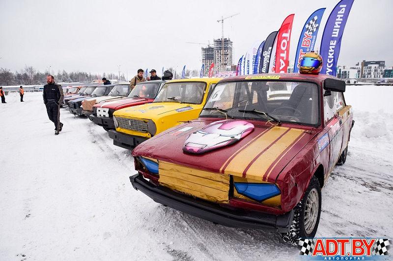 На построении. Легенды СССР «Рождественские гонки-2018»