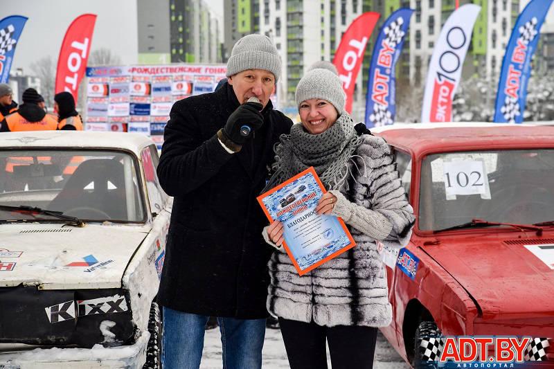 Шевченко Анатолий вручил благодарности партнерам гонки