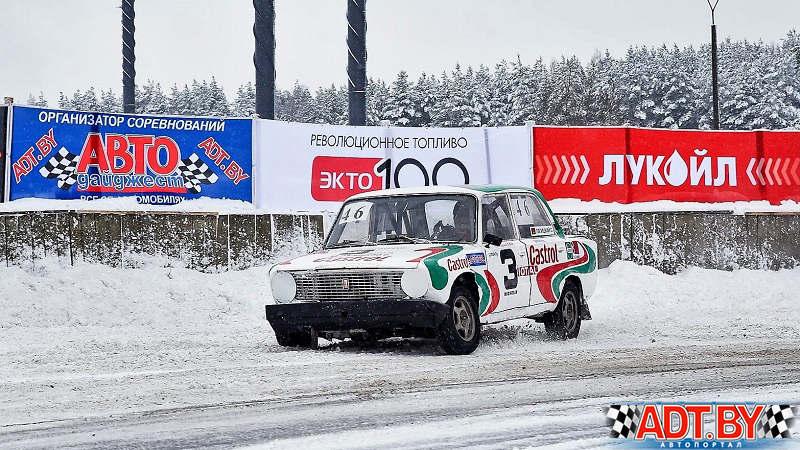 Лукойл ЭКТО-100 на Рождественских гонках в Боровой