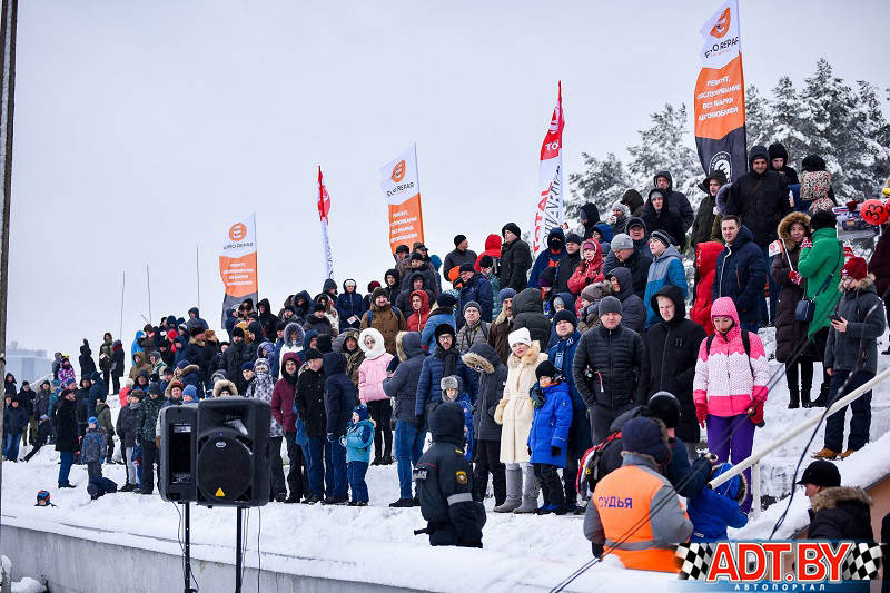 Зрители на Рождественских гонках 2018 в Боровой