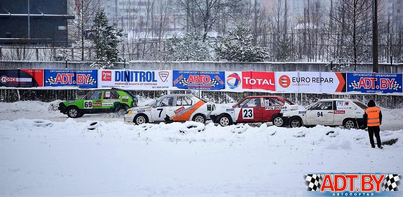 Dinitrol и Total на Рождественских гонках 2018 в Боровой
